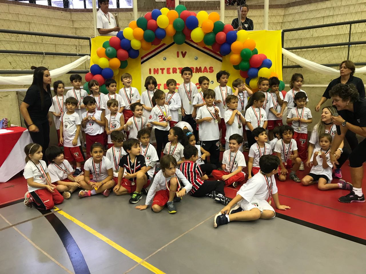 IV Interturmas Tricolor 5 anos